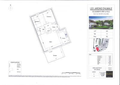 Vente Appartement 3 pièces 66m² Orry-la-Ville (60560) - Photo 3