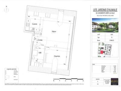 Vente Appartement 2 pièces 53m² Orry-la-Ville (60560) - Photo 2