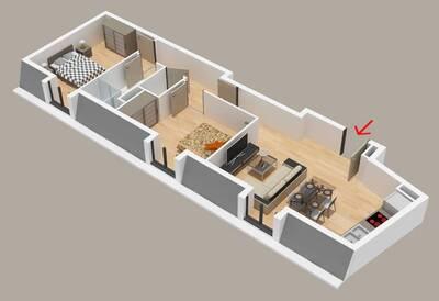 Vente Appartement 3 pièces 63m² Chaumontel (95270) - photo