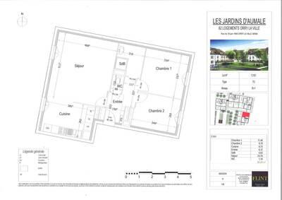 Vente Appartement 3 pièces 67m² Orry-la-Ville (60560) - Photo 2