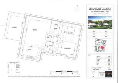 Vente Appartement 3 pièces 66m² Orry-la-Ville (60560) - Photo 2