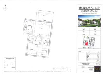 Vente Appartement 3 pièces 69m² Orry-la-Ville (60560) - Photo 2