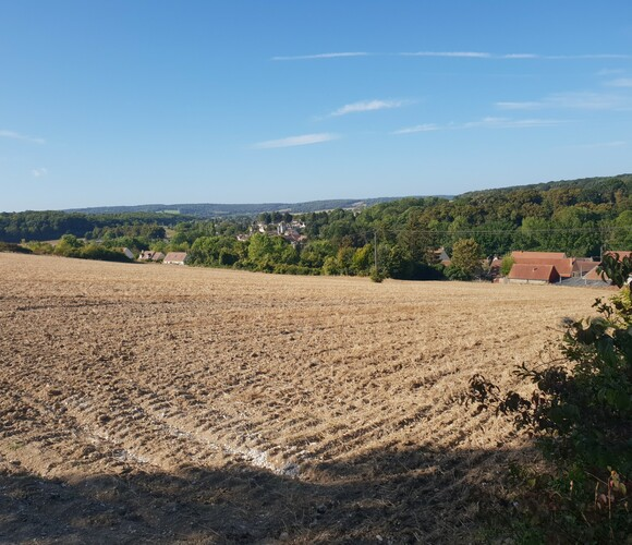 Vente Terrain 646m² puiseux le hauberger - photo