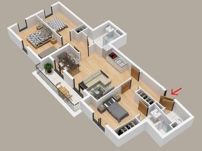 Vente Appartement 4 pièces 82m² Chaumontel (95) - Photo 2